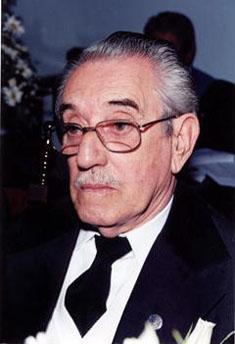 Fig. 39 - José Barbosa Machado em seus 50 anos de vida maçônica. Fonte: Foto cedida pela família.