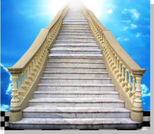 Fig. 45. Detalhe da Escada no Estandarte. Fonte: Estandarte da Pendulus