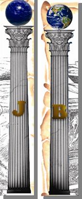 Fig. 69 - Detalhes das colunas. Fonte: Estandarte da Loja Magister