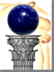 Fig. 72 - Detalhe do globo celeste. Fonte: Estandarte da Loja Magister