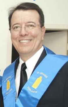 Fig. 74 - Ir.: T.: V.: P.: Luiz Jorge Nuñes Sena. Fonte: GLUSC