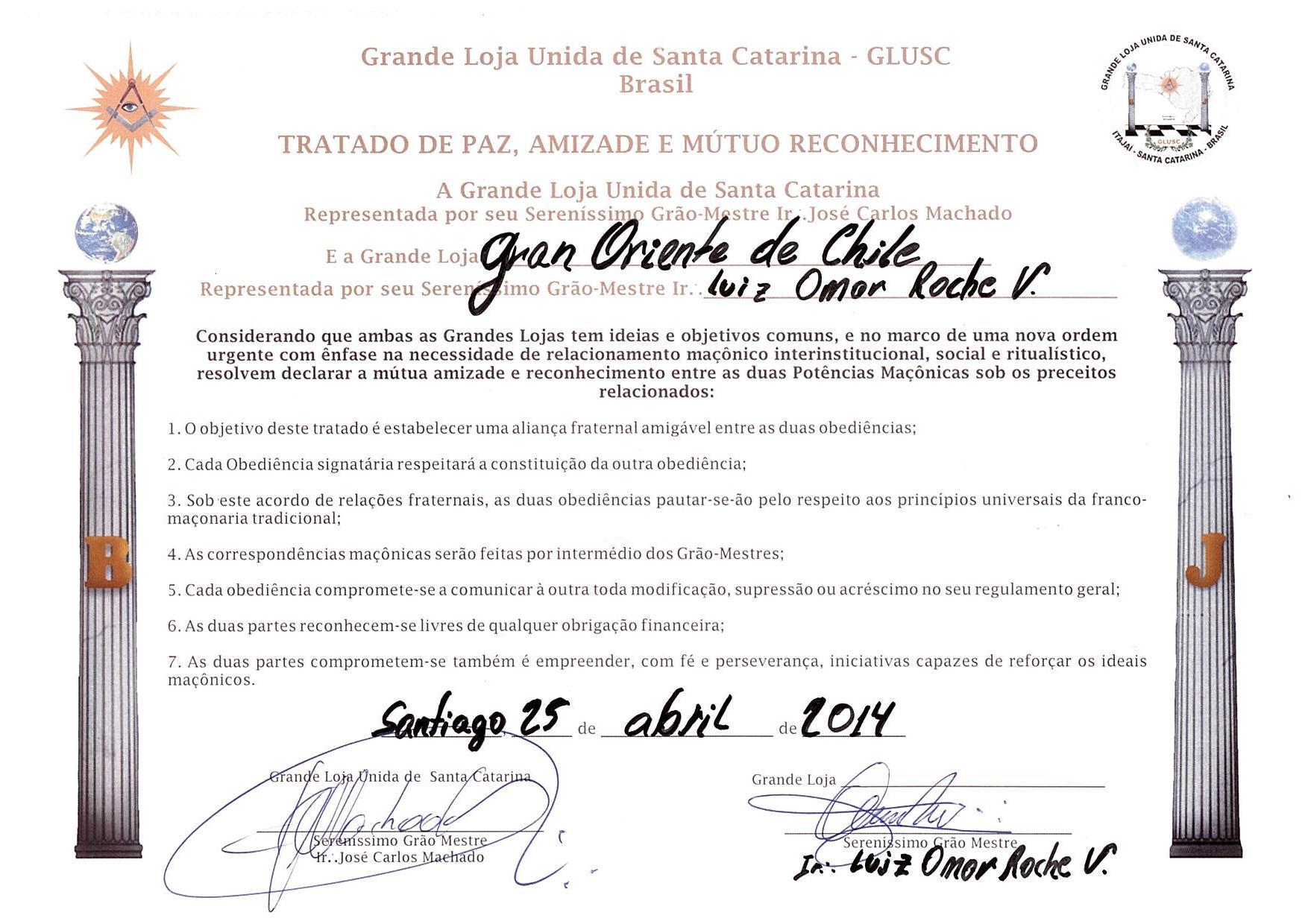 Gran Oriente de Chile - G:.O:.D:.C:.H:.